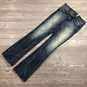 Guess Daredevil Bootcut Jeans Women's 27 T86